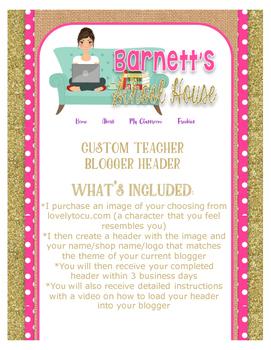 Blog Header {custom blogger header}