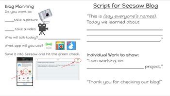 Blog Script for Seesaw