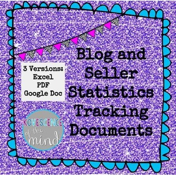 Blog and Seller Statistics Tracking Document Set