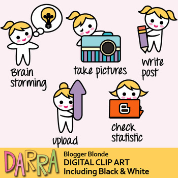 Blogger Clip Art