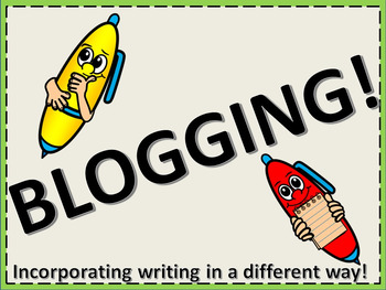 Blogging: A guide to help students start a blog!