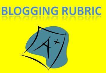 Blogging Comments Rubric
