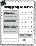 Blogging Rubric