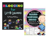 Blogging for Little Learners AND Reading Response Sheets {BUNDLE}