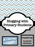 Blogging with Primary Students