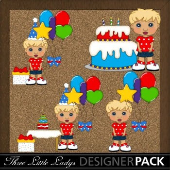 Blonde Birthday Boy