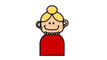 Blonde Teacher Clip Art