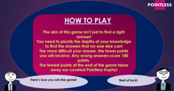 Blood Brothers Pointless Game!