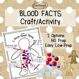 Blood Cell Facts Activity Craft - K - 1st Science