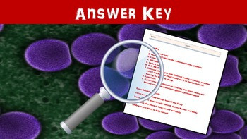 Blood Cells No Prep Lesson w/ Power Point, Worksheet and Cross-Checking Activity