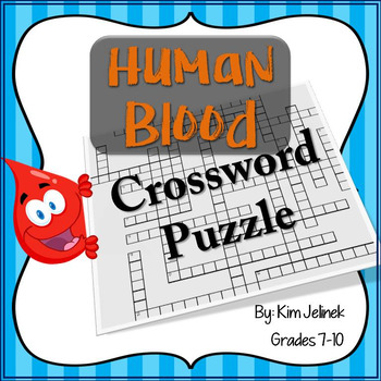 Blood Crossword Puzzle