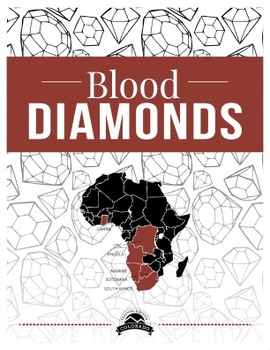 Blood Diamonds and Minerals Reading Reflection {Editable}