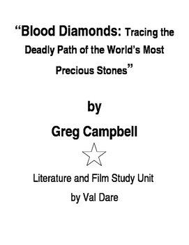 """Blood Diamonds"" Literature and Film Study (2016)"