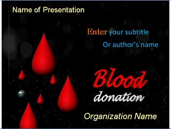 Download Blood Donation PowerPoint