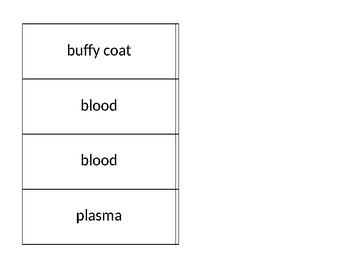 Blood Flash Cards