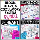 Blood, Human Heart, & the Circulatory System Bundle