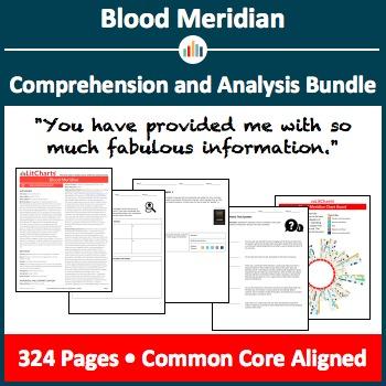 Blood Meridian – Comprehension and Analysis Bundle