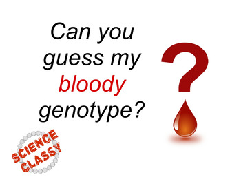 Blood Type Genetics Guess Who