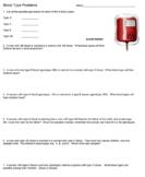 Blood Type Problems - Answer Key