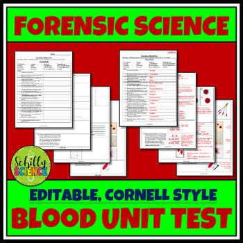 Blood Type Test - Blood Typing - Forensics Biology