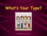Cardiovascular System: Blood Types PowerPoint Presentation