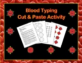 Blood Typing Cut & Paste Modeling Activity