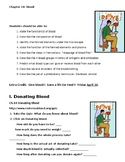 Blood Unit notes, activities and labs