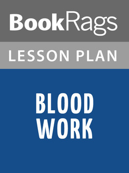Blood Work Lesson Plans
