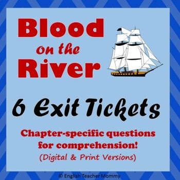 Blood on the River Exit Slips