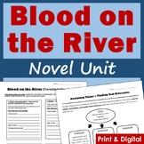 Blood on the River Novel Study Bundle - Printable & Digital