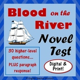 Blood on the River Novel Test