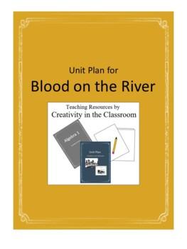 Blood on the River Novel Unit Plus Grammar