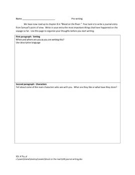 Blood On The River Quiz And Activity Packet By Rebecca Forkner TpT - River quiz