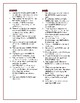 Blood on the River: Synonym/Antonym Vocab Crossword—Use with Bookmarks Plus!