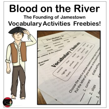 Blood on the River Vocabulary Freebies