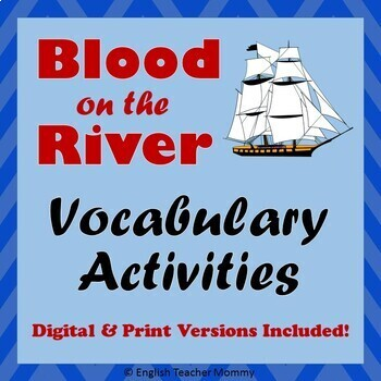 Blood on the River Vocabulary (Plus Worksheet)