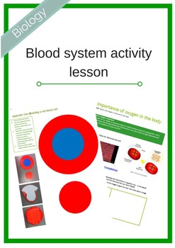 Blood system activity pack