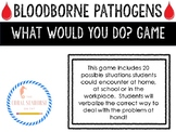 "Bloodborne Pathogens ""What Would You Do"" Game- Lifeskills Vocational Special Ed"