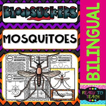 Bloodsuckers - Mosquitoes - Reading Comprehension and worksheets - Dual