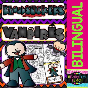 Bloodsuckers - Vampires - Reading Comprehension and worksheets - Bilingual