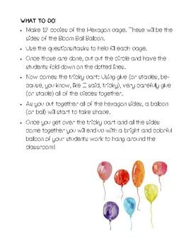 Bloom Ball Balloon