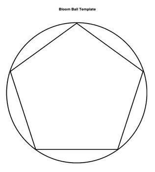 Bloom Ball Literary Analysis Activities Sheet (A Raisin in the Sun)