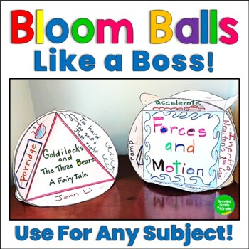 Bloom Ball - Bloom's Taxonomy Critical-Thinking Project