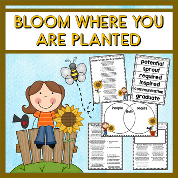 Bloom Where You Are Planted Poetry Set