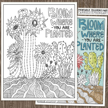 Cactus Coloring Page Stock Illustrations – 441 Cactus Coloring ... | 350x350