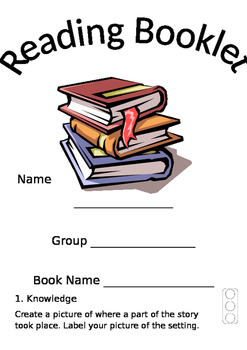 Bloom's Activity Booklet for Reading