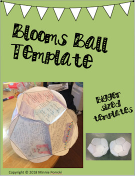 Bloom's Ball Template - Dodecahedron