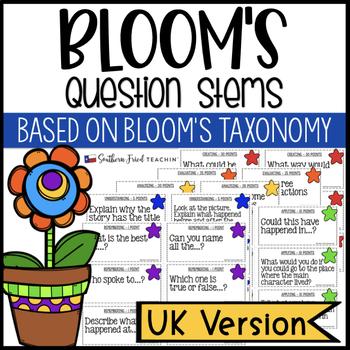 Bloom's Question Stems - UK Version