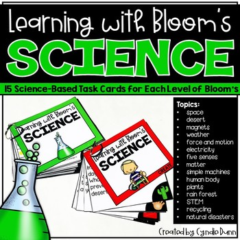 Bloom's Task Card Activities - Science