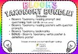 Bloom's Taxonomy BUNDLE!